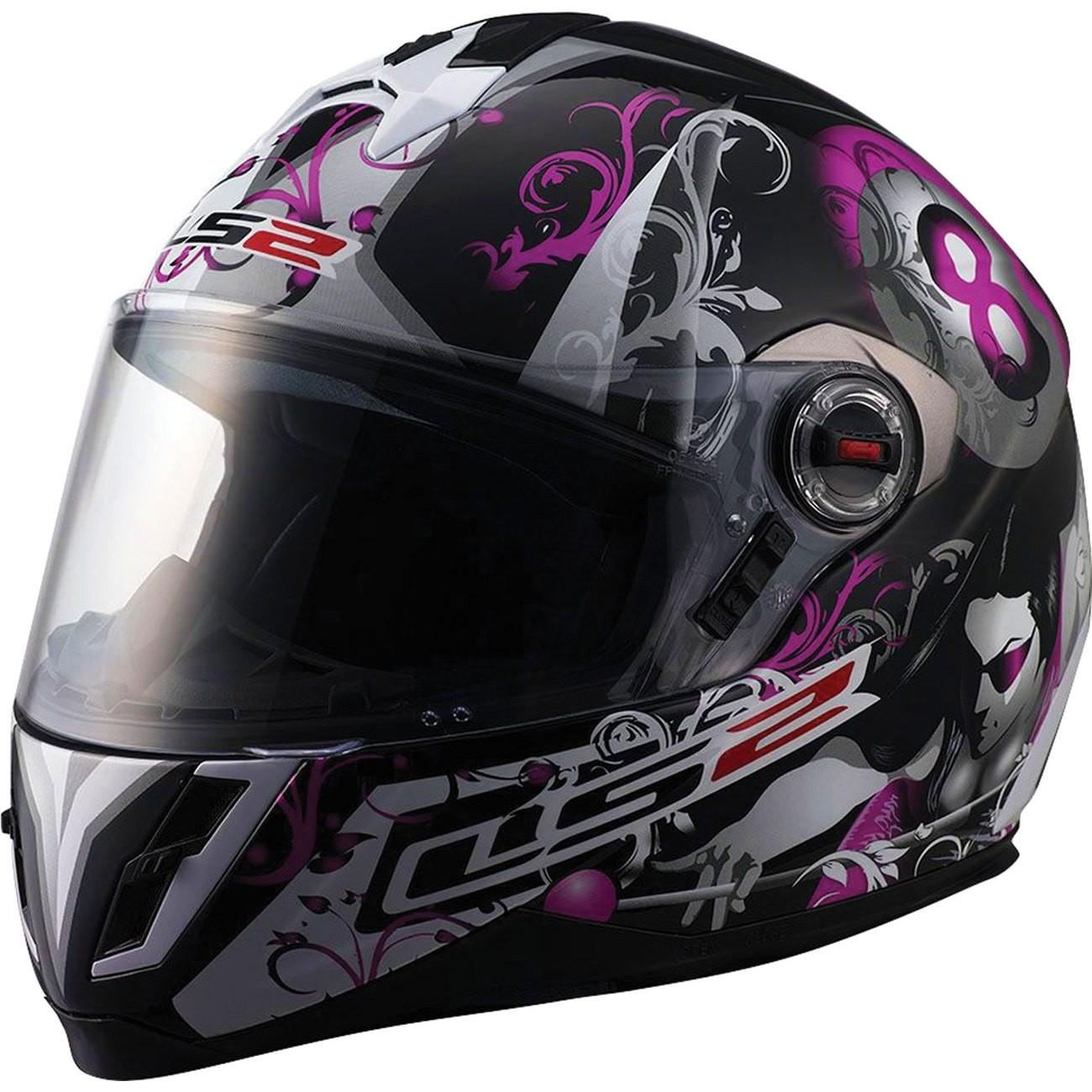 Casque moto 8 ball