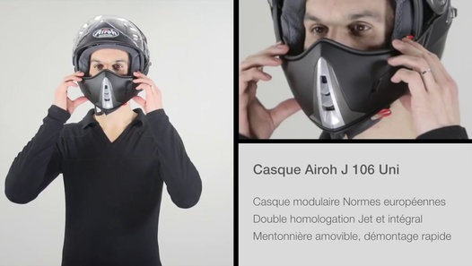 Casque Moto Airoh J106 Auto Moto Et Pièce Auto