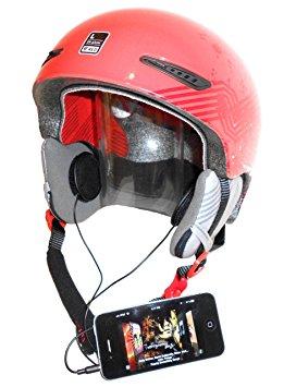 Casque moto avec micro et ecouteur