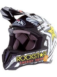 Casque moto cross rockstar energy