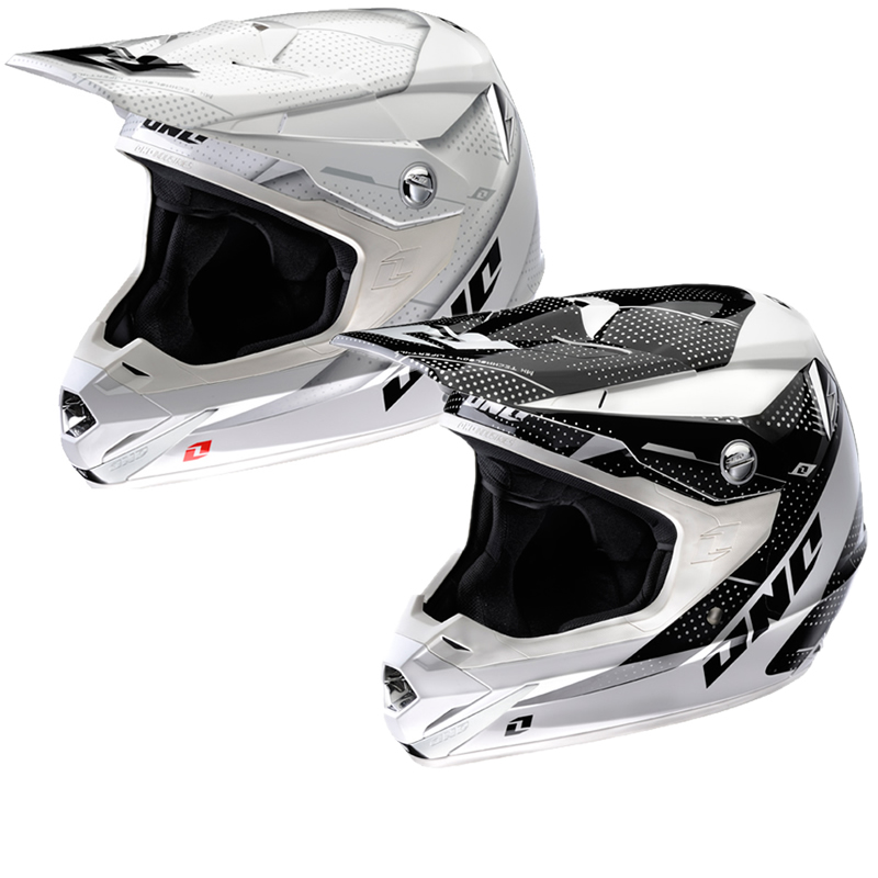 Casque motocross one