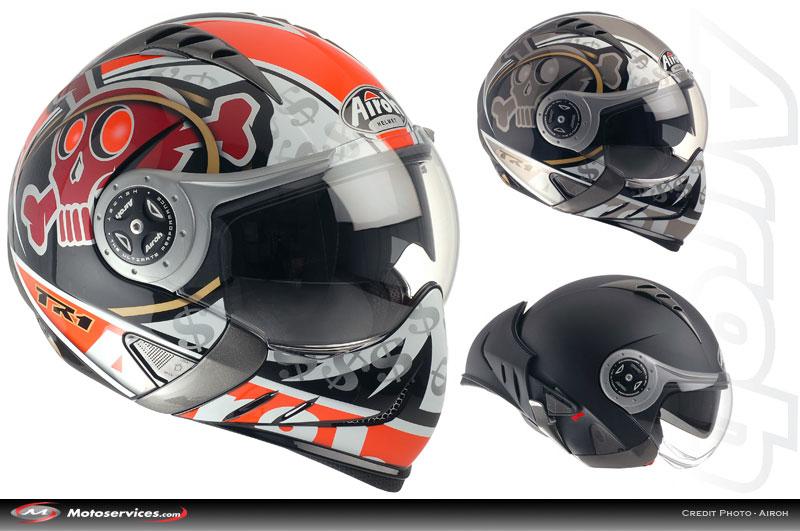 Casque Moto Modulable Airoh Sv55 Auto Moto Et Pièce Auto