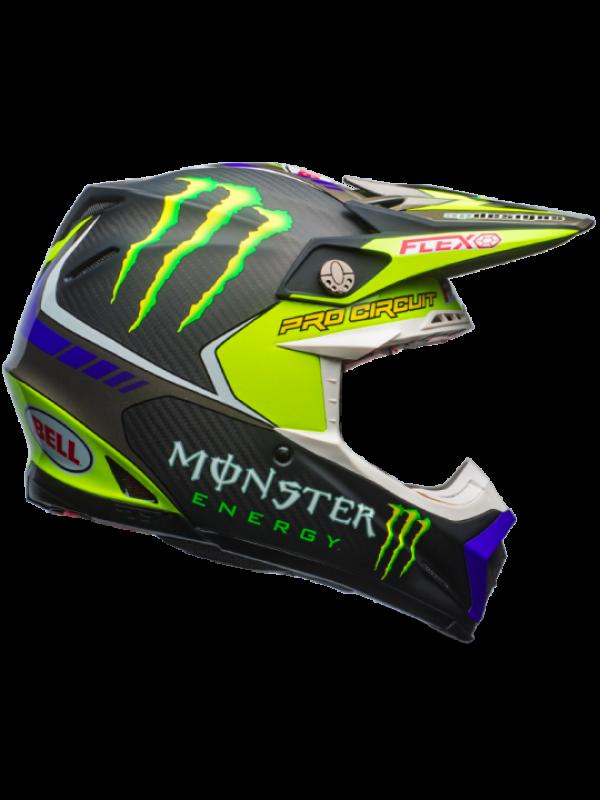 Casque moto cross fox monster