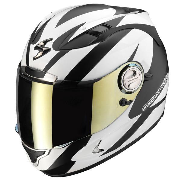 Casque Moto Blanc Auto Moto Et Pièce Auto