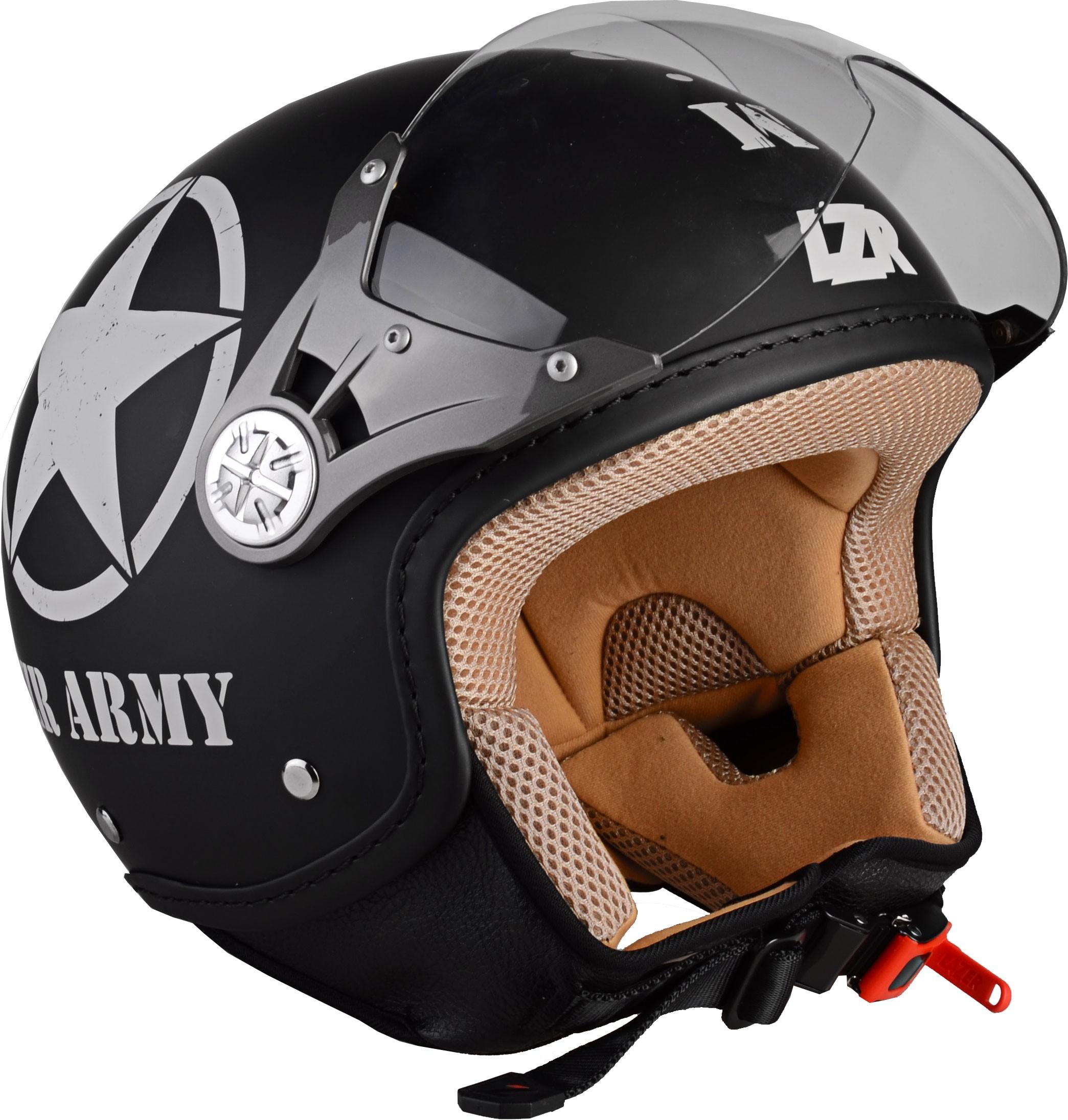 Casque de moto aviateur