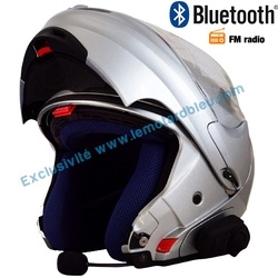 Casque moto modulable destockage