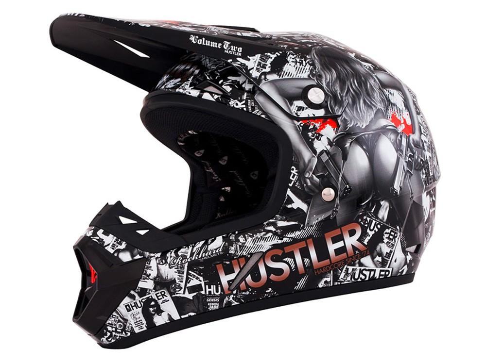 Casque moto cross o'neal monster energy