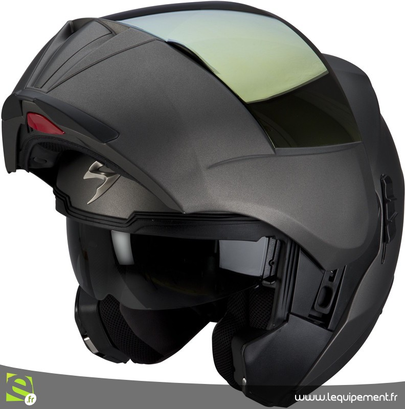 Casque moto scorpion modulable