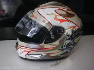 Deco casque integral moto