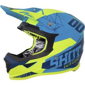 Casque moto cross shot race gear