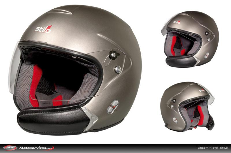 Casque de moto bluetooth integre
