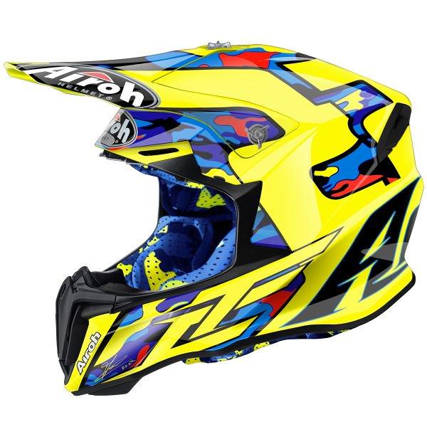 Casque moto cross airoh