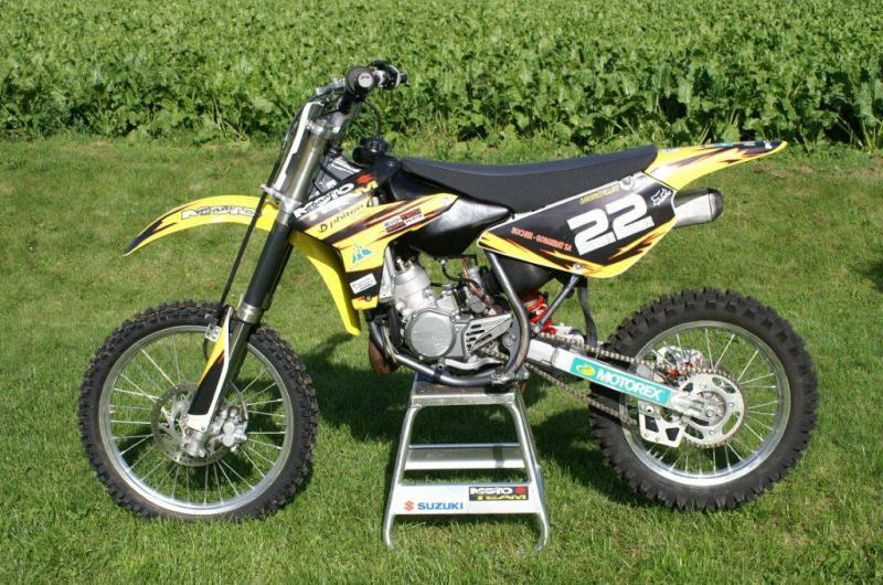Recherche moto cross occasion