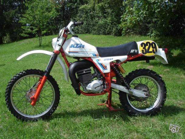 Moto cross occasion ancienne