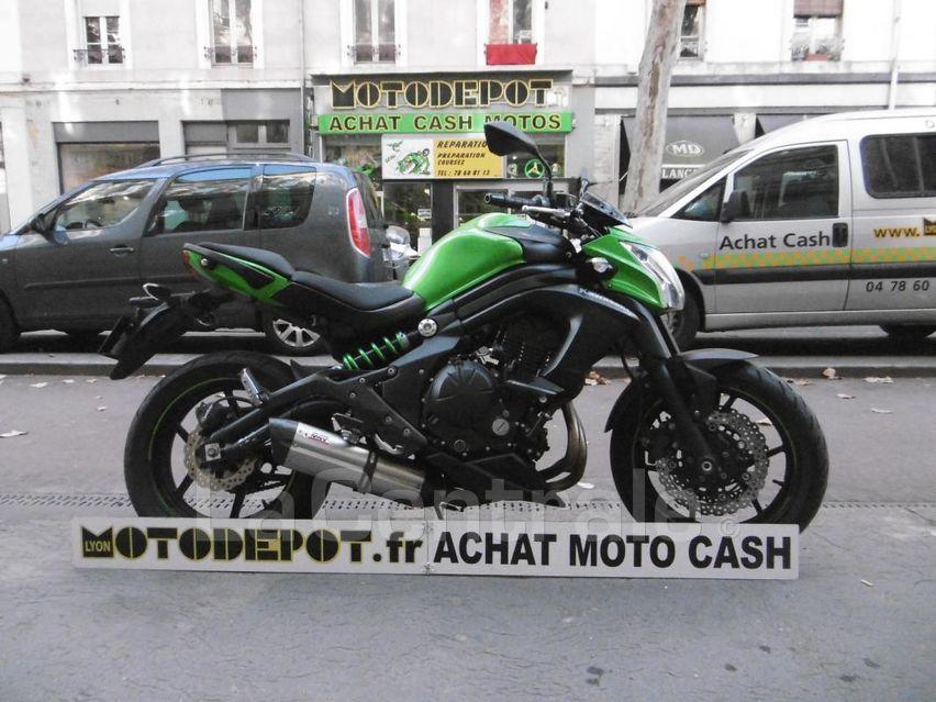 Kawasaki moto occasion lyon