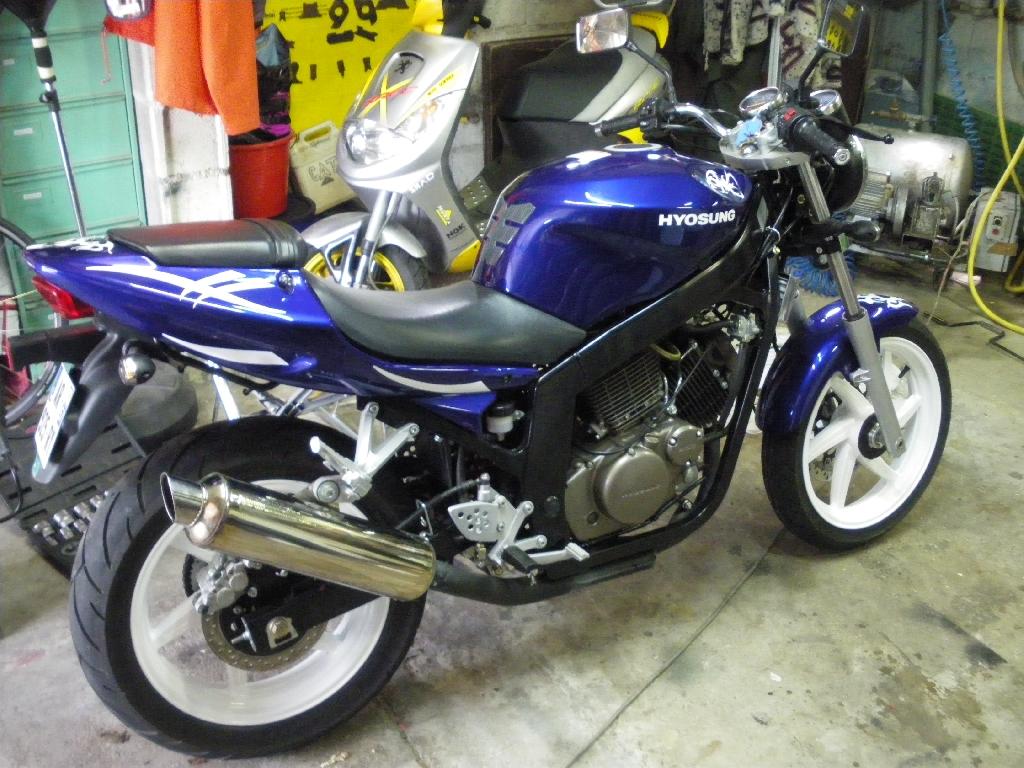 Moto occasion hyosung 125