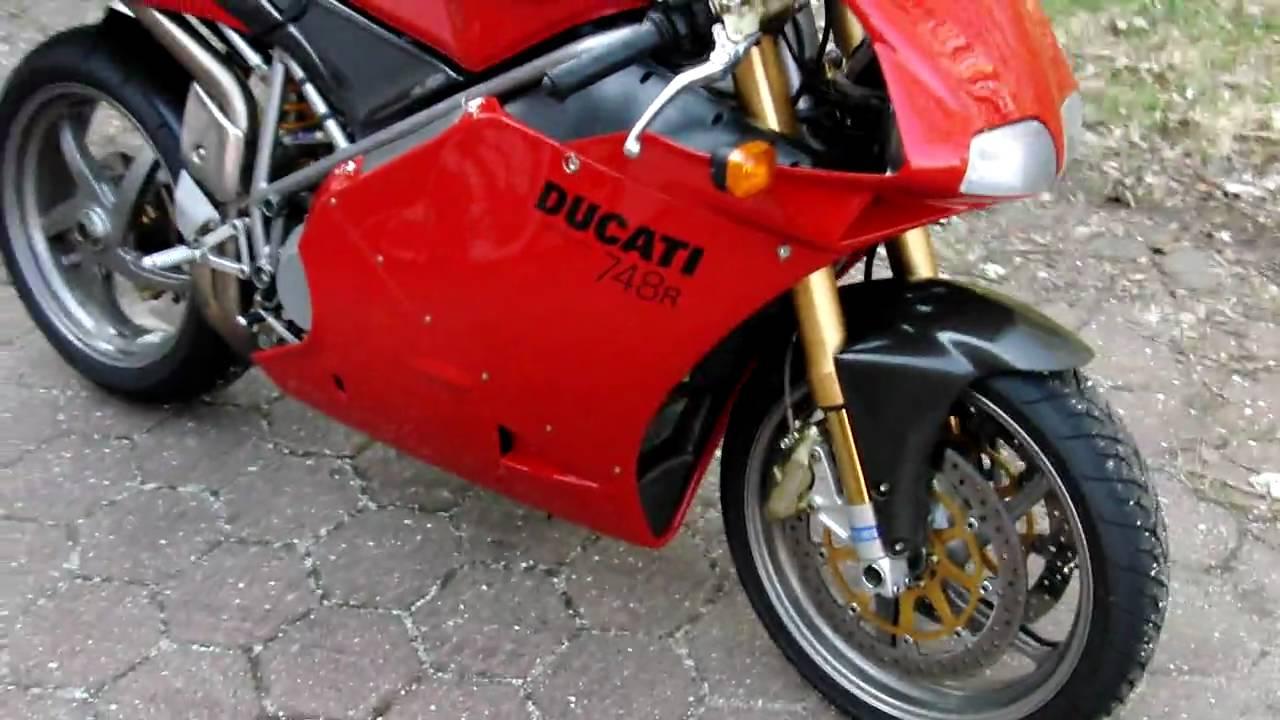 Moto occasion ducati 748