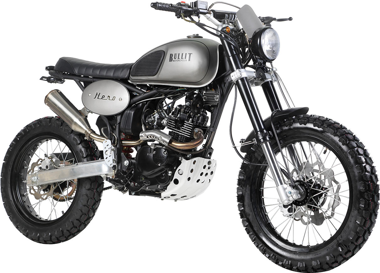 Moto 125 occasion style harley