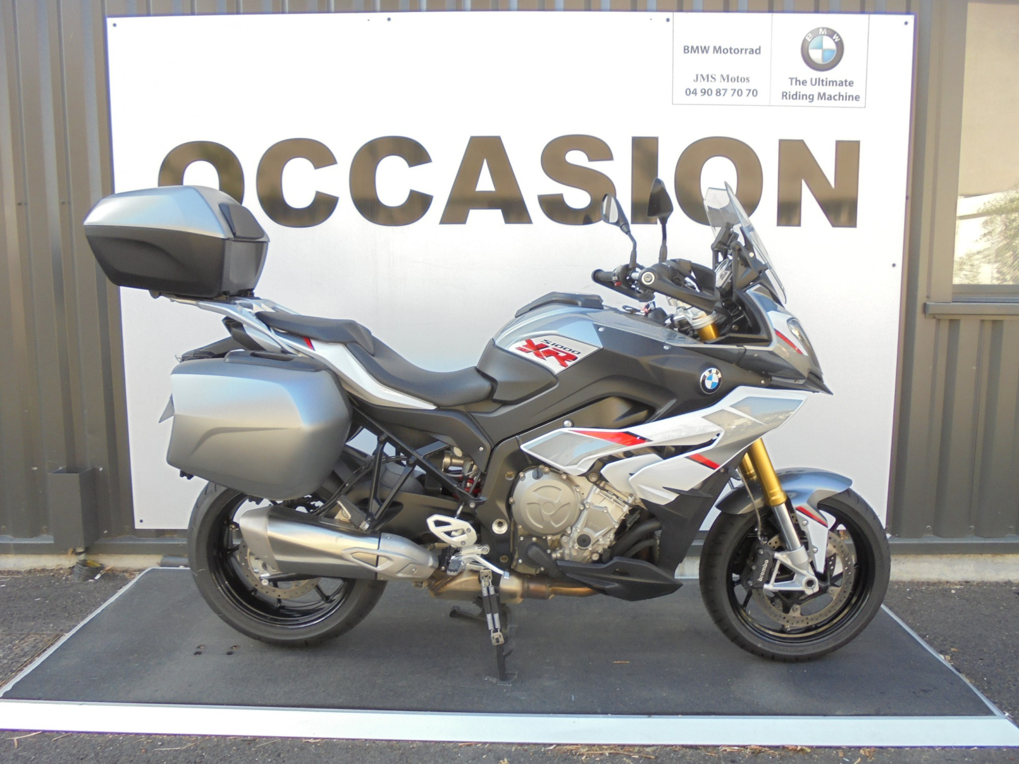 Moto bmw occasion drome