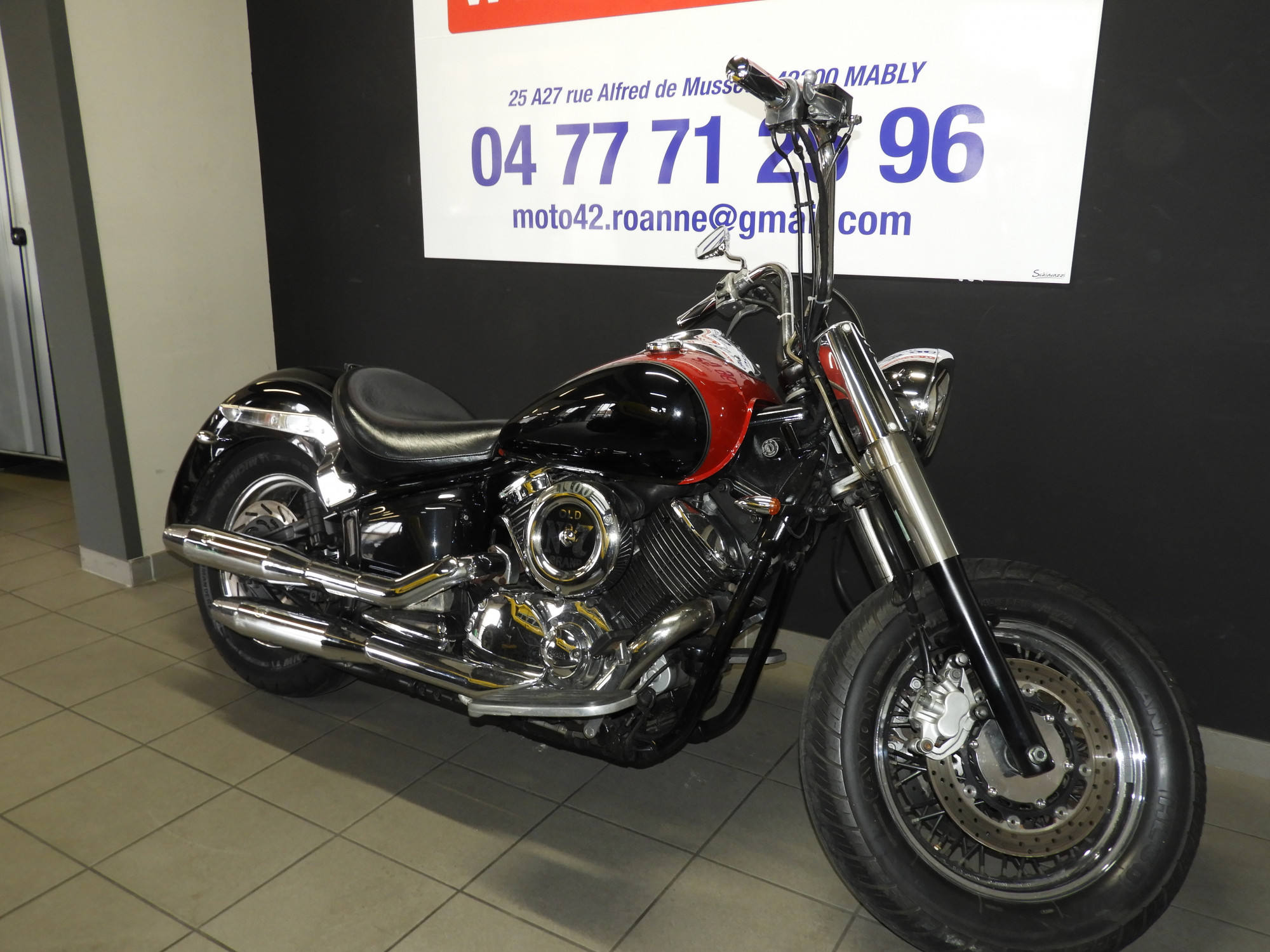 Cherche pieces moto occasion yamaha 1100 dragstar